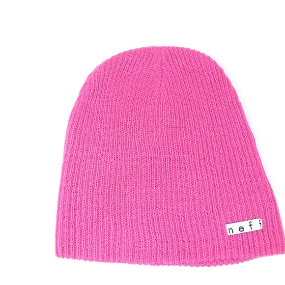 4e813b61e9e Neff Beanie in pink winter is here. M 5bff48eb04e33d65123aa41a. Other  Accessories ...